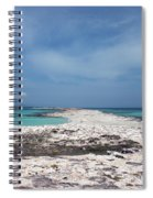 Reaching Out To Ibiza Spiral Notebook