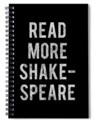 Read More Shakespeare Vintage Spiral Notebook