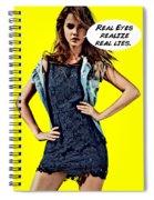 Real Eyes Spiral Notebook