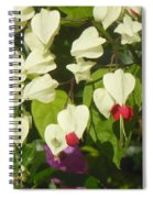 Red And White Surprise 2 Spiral Notebook