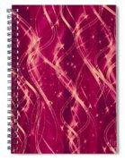 Red Berry Twist Spiral Notebook