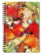Red Colour Identity Spiral Notebook