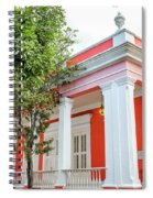 Red House Spiral Notebook