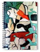 Red Remains Spiral Notebook