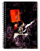 Red Room Zoom Spiral Notebook
