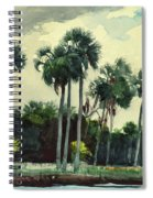 Red Shrt, Homosassa, Florida Spiral Notebook