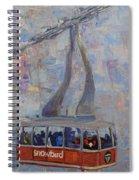 Red Tram Spiral Notebook