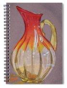 Red Vase Spiral Notebook