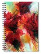 Red Velvet Spiral Notebook