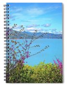 Redbud Beauty Along The Shore Of Shasta Lake Spiral Notebook