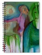 Reflected Moon Spiral Notebook