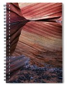 Reflection Of Cliffs In Water Spiral Notebook