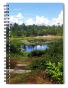 Reflection On The Lake Spiral Notebook