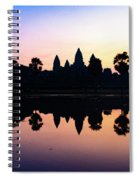 Reflections Of Angkor Wat - Siem Reap, Cambodia Spiral Notebook
