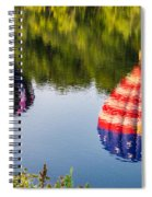 Reflections On The Androscoggin Spiral Notebook