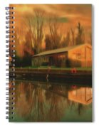Reflections On The Wey Spiral Notebook