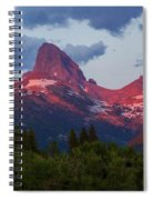 Reliving The Tetons Spiral Notebook
