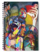 Remember Easter Island Spiral Notebook
