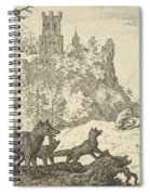 Renard Leaves With The Badger Spiral Notebook