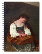 Repentant Mary Magdalene Spiral Notebook