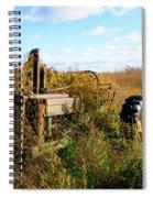 Retired John Deere Tractor 2 Spiral Notebook