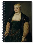 Retrato De Mujer   Spiral Notebook