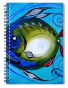 Return Fish Spiral Notebook