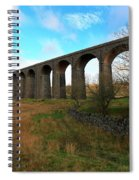 Ribblehead Viaduct On The Settle Carlisle Railway North Yorkshire Spiral Notebook