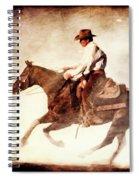 Riding The Light Spiral Notebook