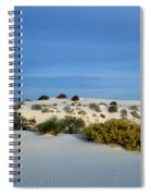 Rippled Sand Dunes In White Sands National Monument, New Mexico - Newm500 00114 Spiral Notebook