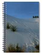 Rippled Sand Dunes In White Sands National Monument, New Mexico - Newm500 00118 Spiral Notebook