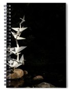 Rise Up And Fly Spiral Notebook