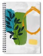 Rising With The Sun 1- Art By Linda Woods Spiral Notebook