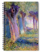 River Epte Giverny 1910  Spiral Notebook