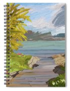 River Ode Spiral Notebook