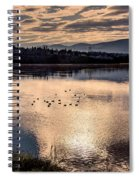 River Of Clouds Spiral Notebook