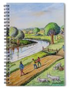 River Road Spiral Notebook