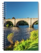 River Tay, Dunkeld, Perthshire Spiral Notebook