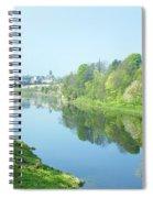 river tweed at Coldstream Spiral Notebook