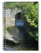 Rivers Merging Spiral Notebook