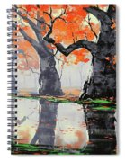 Riverside Trees Spiral Notebook
