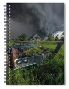 Road's End  Spiral Notebook