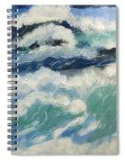 Roaring Ocean Spiral Notebook