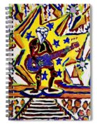 Rock And Roll Hall Dreams  Spiral Notebook