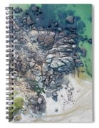Rock Clusters Spiral Notebook