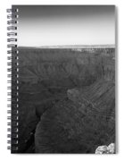 Rock Formations On The Edge Spiral Notebook