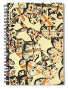 Rocking Old England Spiral Notebook