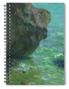 Rocks At Cap Negret Sp Spiral Notebook