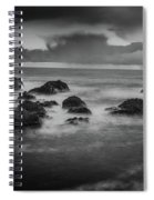 Rocks In The Storm Spiral Notebook