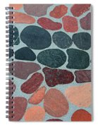 Rocks Sawed And Polished Spiral Notebook